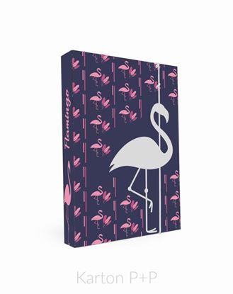 Obrázek Box na sešity A4 Romantic Nature Flamingo