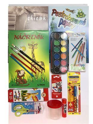 Obrázek Školní balíček RÁKOSNÍČEK - 15 ks