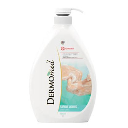 Obrázek Dermomed tekuté mýdlo antibakteriální náplň 1 l