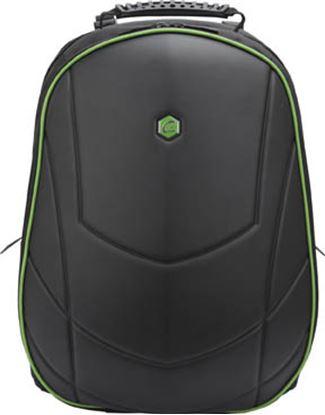 """Obrázek Batoh na notebook Bestlife Assailant - černo-zelená / 17"""""""