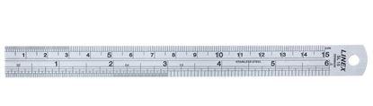 Obrázek Ocelové pravítko Linex - 15 cm
