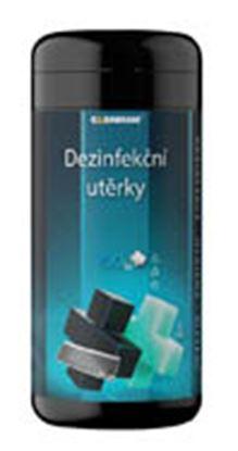 Obrázek Čistící kapesníky Clenium dezinfekční - 100 ks / na elektroniku