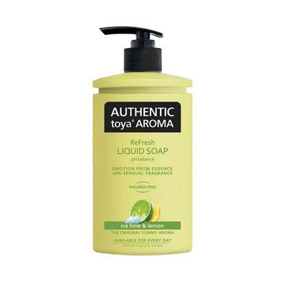 Obrázek AUTHENTIC limetka a citron tekuté mýdlo 400 ml