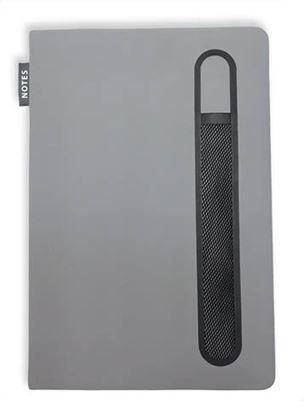 Obrázek Kniha záznamní Pastel - A5 / šedá
