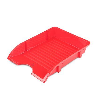 Obrázek Kancelářský box na spisy Donau - červená