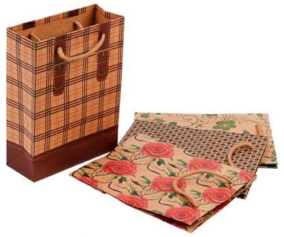 Obrázek Tašky papírové Craft Ornament - malá / 150 x 60 x 200 mm