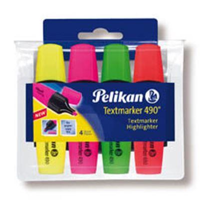 Obrázek Pelikán 490 zvýrazňovač sada 4 ks