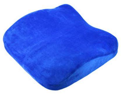 Obrázek Anatomicky tvarovaý podsedák + bederní opěrka - 2 v 1 / modrá