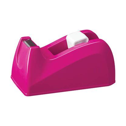Obrázek Stolní odvíječ lepicí pásky DELI - růžová