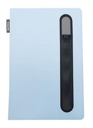 Obrázek Kniha záznamní Pastel - A5 / modrá