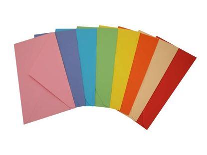 Obrázek Obálky barevné - DL / 20 ks