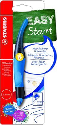 Obrázek Inkoustový roller STABILO® EASYoriginal Graffiti - pro leváky / modrá