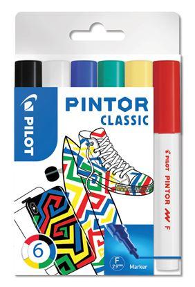 Obrázek Popisovač Pilot Pintor - Classic / 6 ks