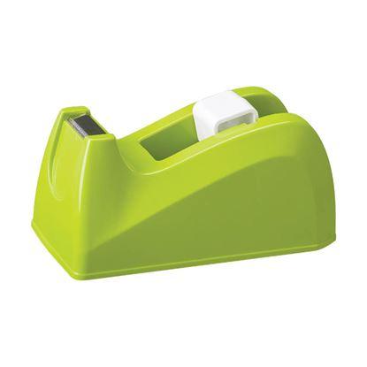 Obrázek Stolní odvíječ lepicí pásky DELI - zelená