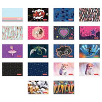 Obrázek Obal na doklady / Studentský průkaz - mix motivů
