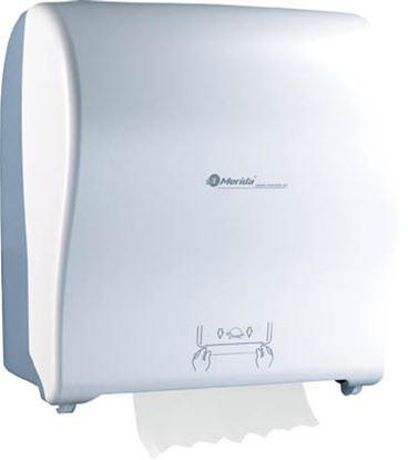 Obrázek Zásobník Automatic na ručníky v rolích Merida SOLID CUT - bílá