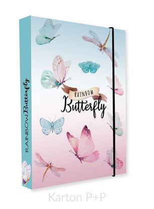 Obrázek Box na sešity A4 Motýl
