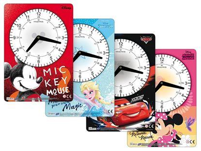 Obrázek Dětské hodiny hranaté mix