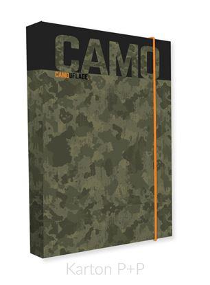 Obrázek Box na sešity A4 Jumbo Camo