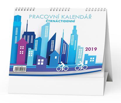 Obrázek Kalendář stolní pracovní ĆTRNÁCTIDENNÍ - BSB0