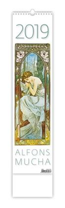 Obrázek Kalendář nástěnný vázankový - Alfons Mucha / N194