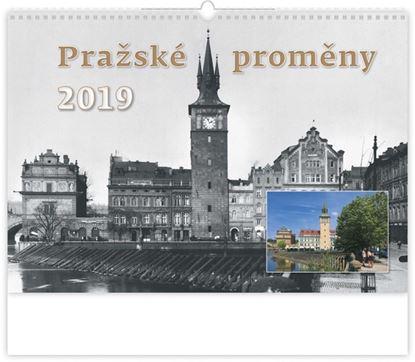 Obrázek Kalendář nástěnný - Praha historická / N106