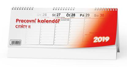 Obrázek Kalendář stolní pracovní CITÁTY II. - BSB2