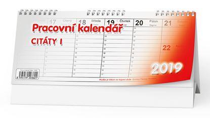 Obrázek Kalendář stolní pracovní CITÁTY I. - BSB1