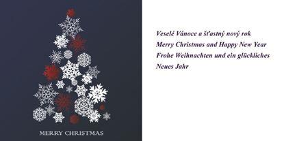 Obrázek Novoročenky jednolisté - H533 / modrý stromeček