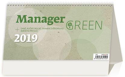 Obrázek Kalednář stolní pracovní MANAGER GREEN - Manager Green / S58