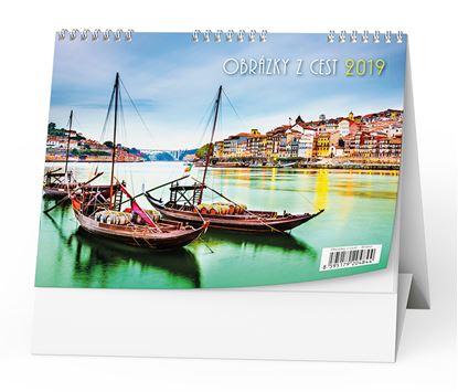Obrázek Kalendář stolní  -  Obrázky z cest / BSH3