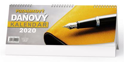 Obrázek Kalendář stolní poznámkový - Daňový / BSC10