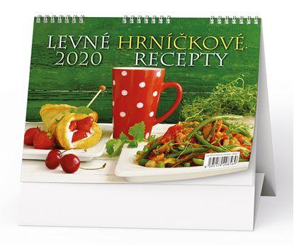 Obrázek Kalendář stolní LEVNÉ HRNÍČKOVÉ RECEPTY -  Hrníčková kuchařka/ BSD7