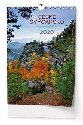 Obrázek Kalendář nástěnný -  České Švýcarsko / BNK4