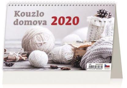 Obrázek Kalendář stolní KOUZLO DOMOVA - Kouzlo domova / S09