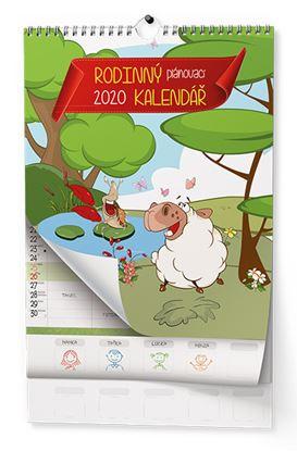 Obrázek Kalendář nástěnný - Rodinný plánovací / BNC9