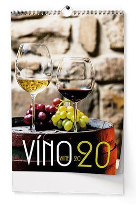 Obrázek Baloušek tisk 2021 Víno - nástěnný kalendář BNF1