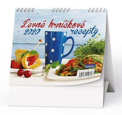 Obrázek Kalendář stolní LEVNÉ HRNÍČKOVÉ RECEPTY -  Hrníčková kuchařka/ BSK2