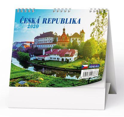 Obrázek Kalendář stolní ČESKÁ REPUBLIKA  -   Česká republika / BSL2