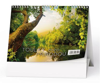 Obrázek Kalendář stolní  -  Toulky přírodou/ BSH7