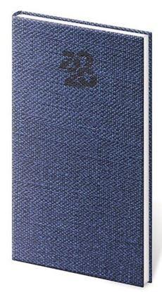 Obrázek Diáře CARPET - týdenní kapesní / modrá
