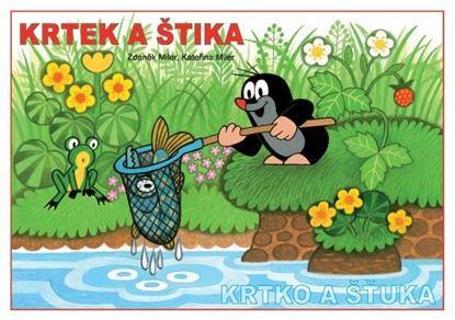 Obrázek Omalovánky A5 - Krtek a štika