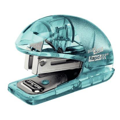 Obrázek Kancelářský sešívač Rapid Colour´Ice F4 mini - ledově modrá