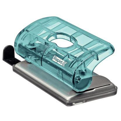 Obrázek Kancelářský děrovač Rapid Colour´Ice FC5 mini - ledově modrá