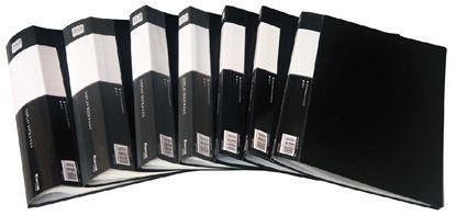 Obrázek Prezentační desky A4 - 30 kapes / černá