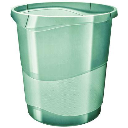 Obrázek Koš odpadkový Colour´Ice - ledově zelená / 14 l