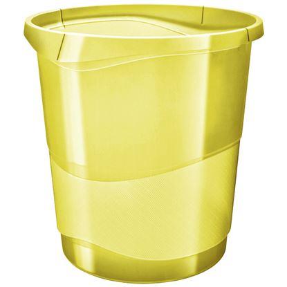 Obrázek Koš odpadkový Colour´Ice - ledově žlutá / 14 l