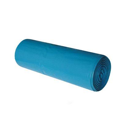 Obrázek Dekos pytle na odpad 70x110 cm 120 l 40 my 25 ks modré