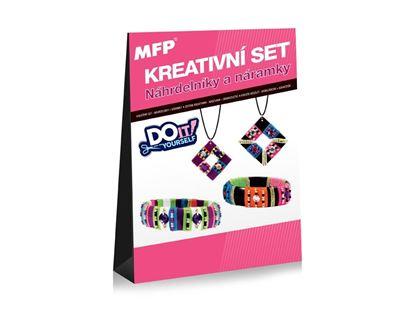 Obrázek Kreativní sety - náhrdelníky + náramky 2+2ks
