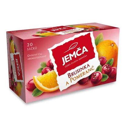 Obrázek Čaj Jemča - brusinka a pomeranč